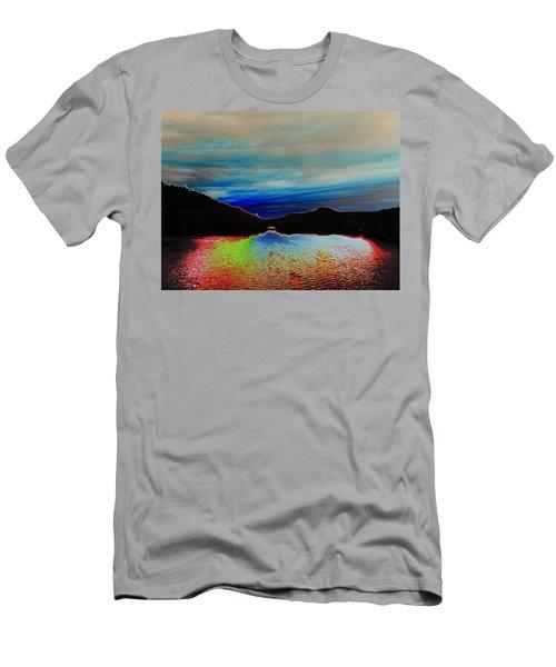 Landscape Abstract Men's T-Shirt (Athletic Fit)