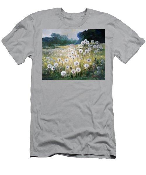 Lanscape With Blow-balls Men's T-Shirt (Slim Fit) by Irek Szelag