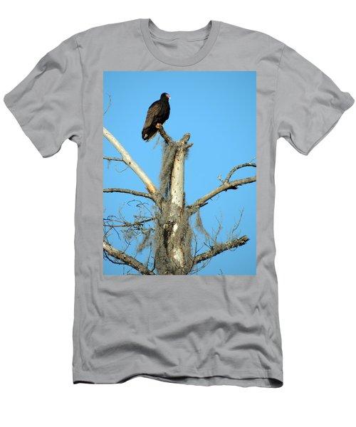 Larry Buzzard Vulture Men's T-Shirt (Athletic Fit)