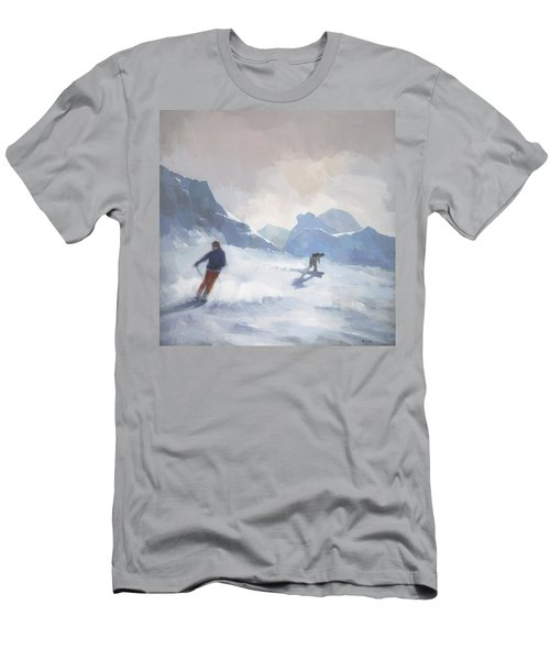Last Run Les Arcs Men's T-Shirt (Athletic Fit)