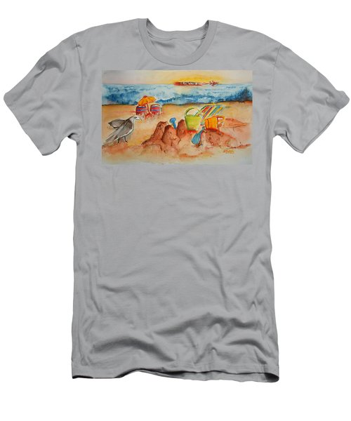 Late Afternoon Beach Men's T-Shirt (Athletic Fit)
