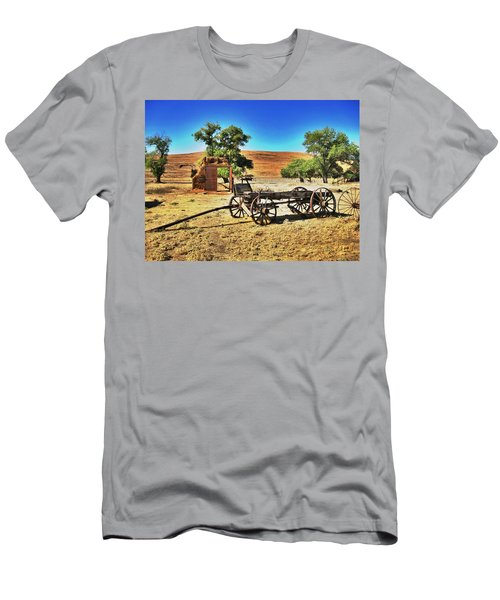 Late For Market Men's T-Shirt (Athletic Fit)