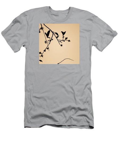 Leaf Birds Men's T-Shirt (Slim Fit) by Darryl Dalton