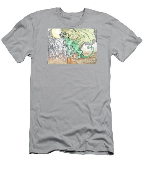 Leaping Dragon Men's T-Shirt (Athletic Fit)