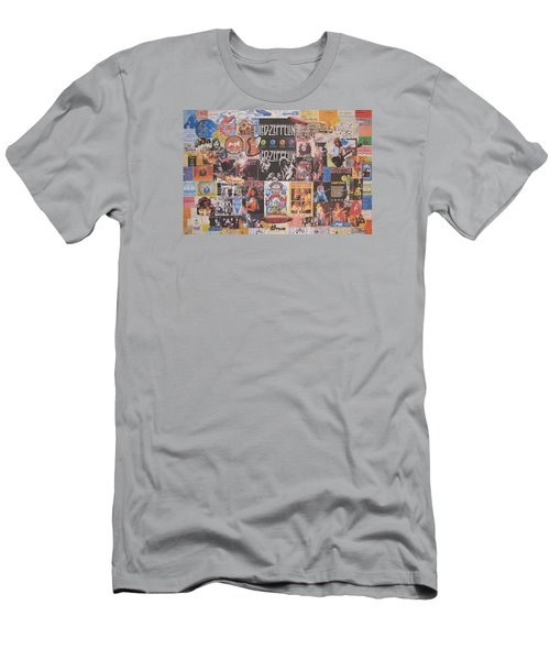 Led Zeppelin Years Collage Men's T-Shirt (Athletic Fit)