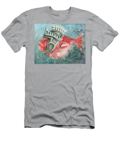 Legionnaire Fish Men's T-Shirt (Athletic Fit)