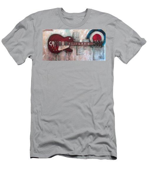 Les Paul Number 5 Men's T-Shirt (Athletic Fit)