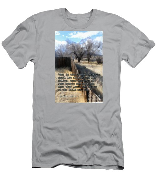Men's T-Shirt (Athletic Fit) featuring the photograph Let It Be by Beauty For God