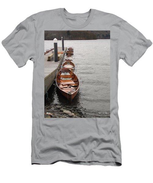 Let's Ride Men's T-Shirt (Slim Fit) by Tiffany Erdman