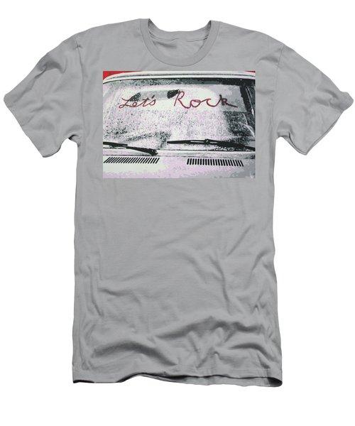 Lets Rock Men's T-Shirt (Athletic Fit)