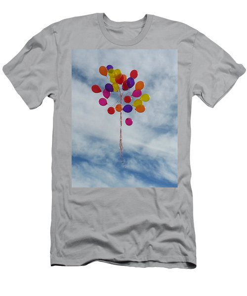 Letting Go Men's T-Shirt (Slim Fit) by Emmy Marie Vickers