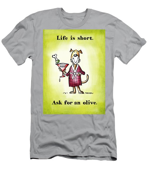 Life Is Short Men's T-Shirt (Athletic Fit)