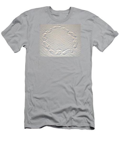Life's A Beach Men's T-Shirt (Slim Fit) by Charlie and Norma Brock