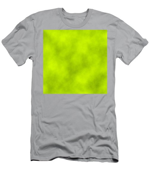 Light Green Leather Texture Background Men's T-Shirt (Athletic Fit)