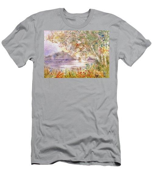 Light Through The Pass Men's T-Shirt (Athletic Fit)