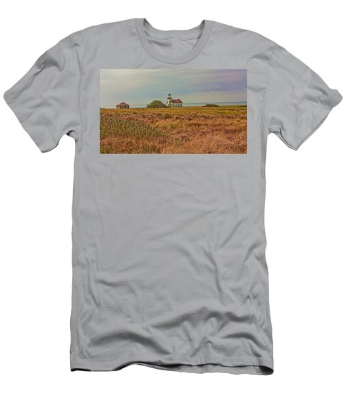 Lighthouse Men's T-Shirt (Slim Fit) by Brian Williamson