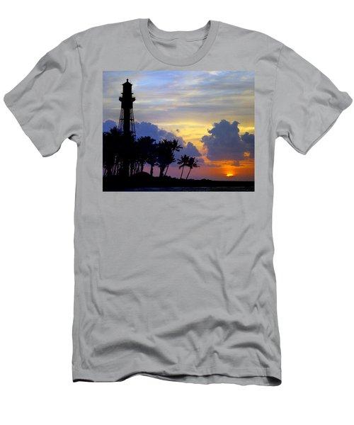 Lighthouse Point Sunrise 2 Men's T-Shirt (Athletic Fit)