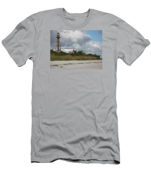 Men's T-Shirt (Slim Fit) featuring the photograph Sanibel Island Light by Christiane Schulze Art And Photography