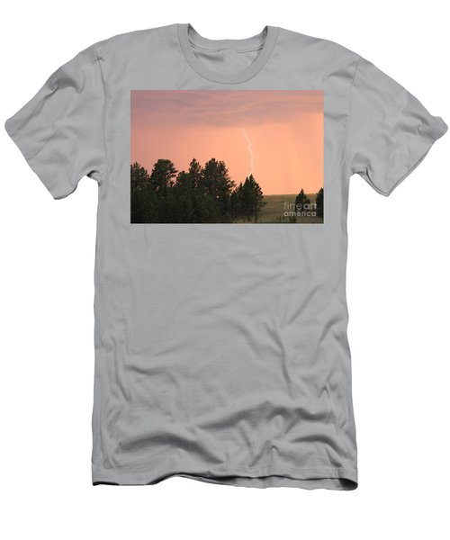 Lighting Strikes In Custer State Park Men's T-Shirt (Athletic Fit)