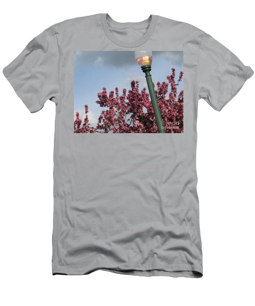 Men's T-Shirt (Slim Fit) featuring the photograph Lighting Up The Day by Michael Krek