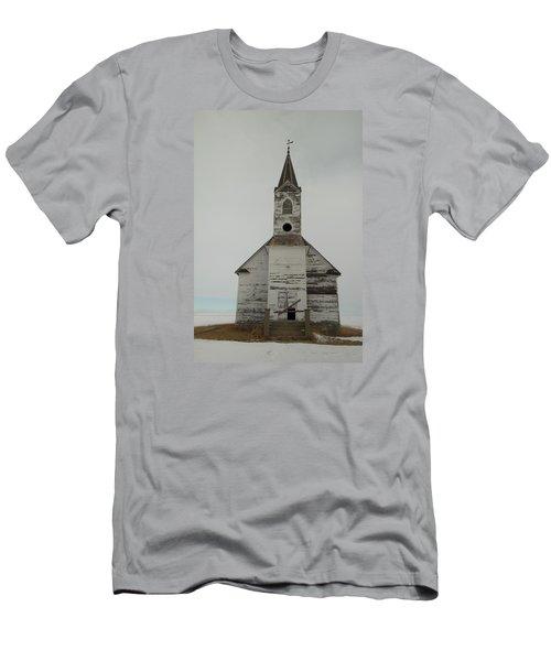 Like An Angel Boarded Up Men's T-Shirt (Slim Fit) by Jeff Swan