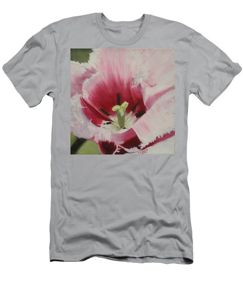 Lilicaea Tulipa Men's T-Shirt (Slim Fit) by Claudia Goodell