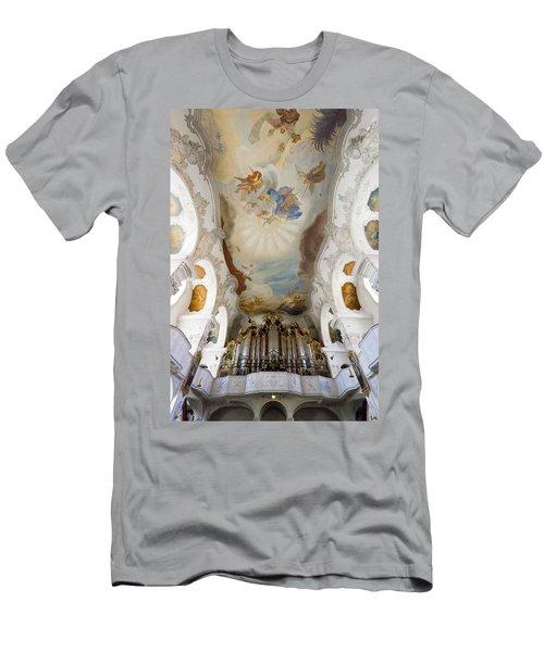 Lindau Organ And Ceiling Men's T-Shirt (Athletic Fit)