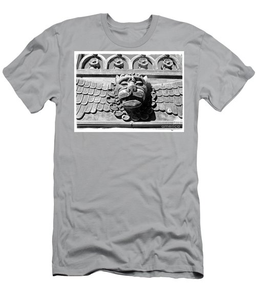 Men's T-Shirt (Slim Fit) featuring the photograph Lions Head by Carsten Reisinger