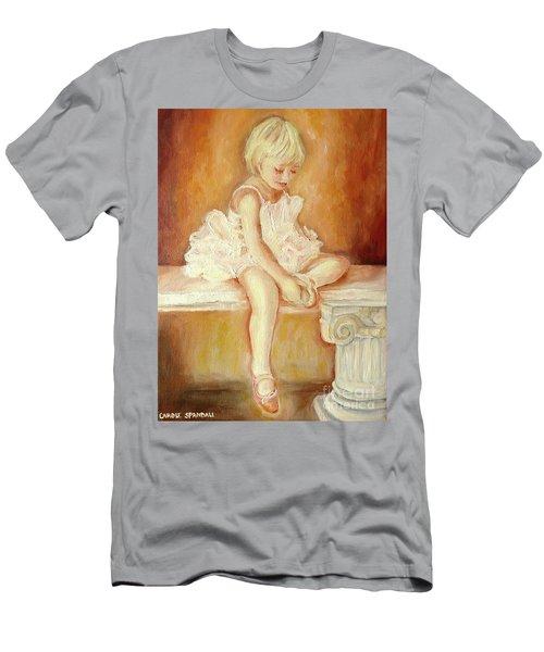 Little Ballerina Men's T-Shirt (Athletic Fit)