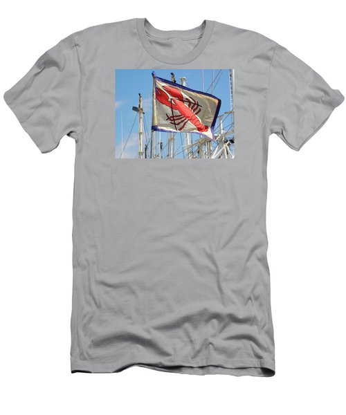 Lobster Flag At The Point Men's T-Shirt (Athletic Fit)