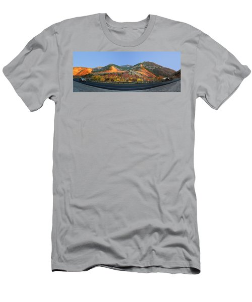 Logan Canyon Men's T-Shirt (Athletic Fit)