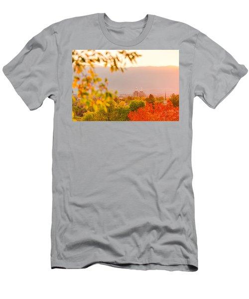 Logan Temple Men's T-Shirt (Athletic Fit)