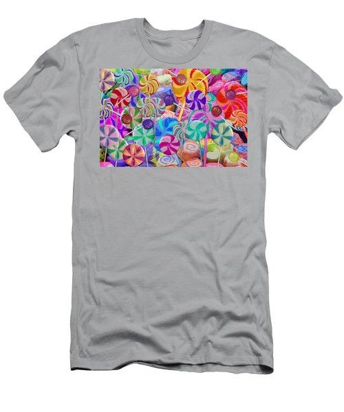 Lolly Pop Land Men's T-Shirt (Athletic Fit)