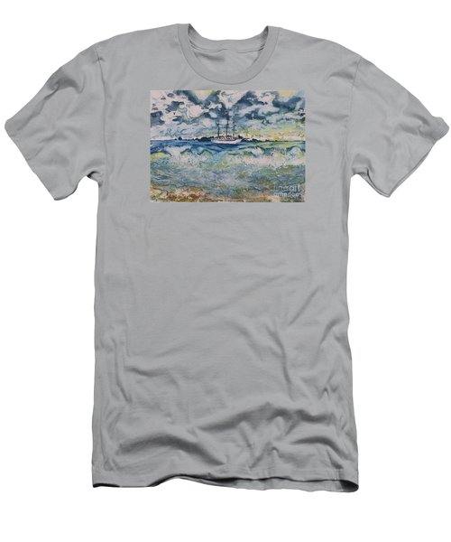 Lone Vessel  Men's T-Shirt (Athletic Fit)