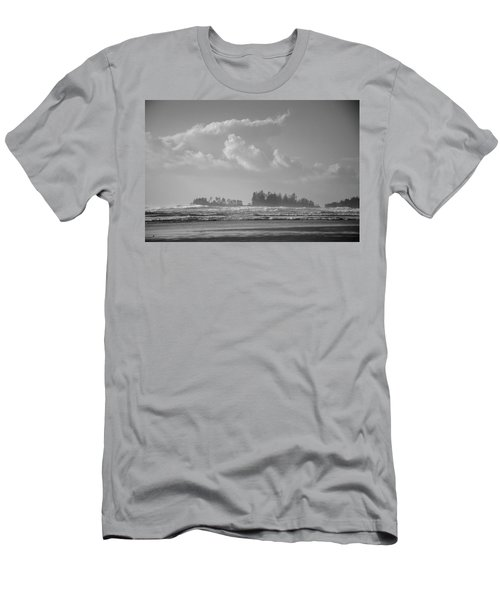 Long Beach Landscape  Men's T-Shirt (Athletic Fit)