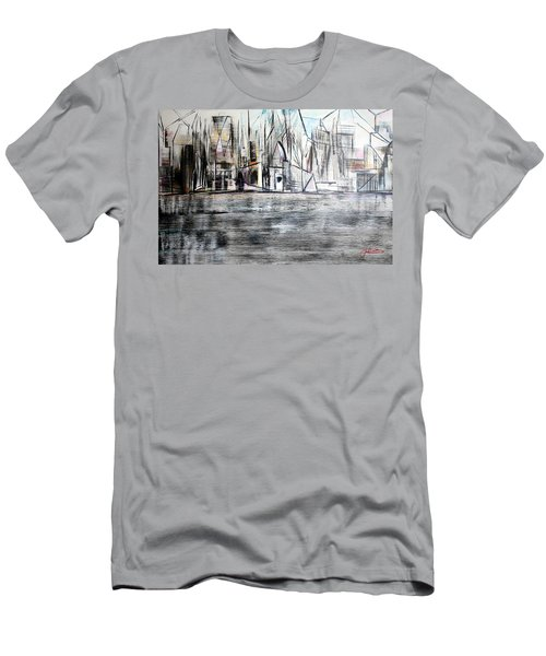 Long Island Pov 2 Men's T-Shirt (Athletic Fit)
