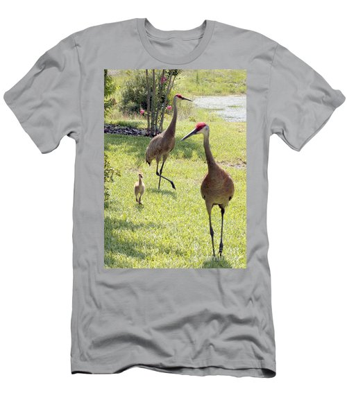 Looking For A Handout Men's T-Shirt (Slim Fit)