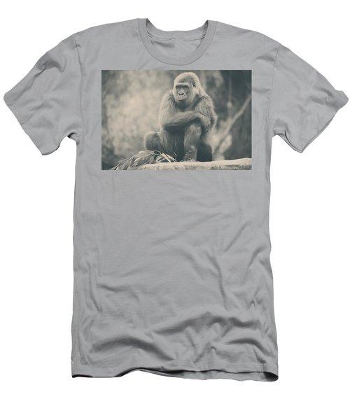 Looking So Sad Men's T-Shirt (Athletic Fit)