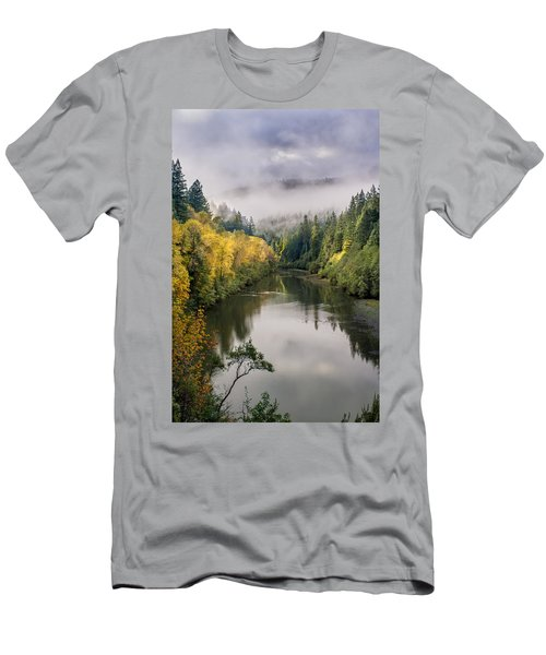 Looking Up The Eel River Men's T-Shirt (Athletic Fit)