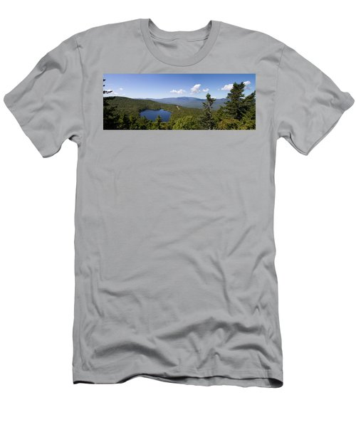 Loon Mountain Men's T-Shirt (Athletic Fit)