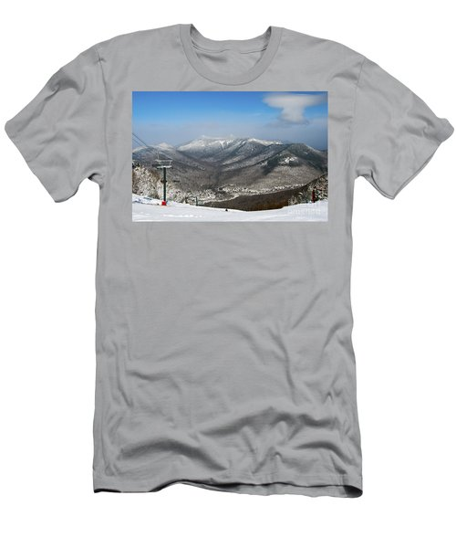 Loon Mountain Ski Resort White Mountains Lincoln Nh Men's T-Shirt (Athletic Fit)