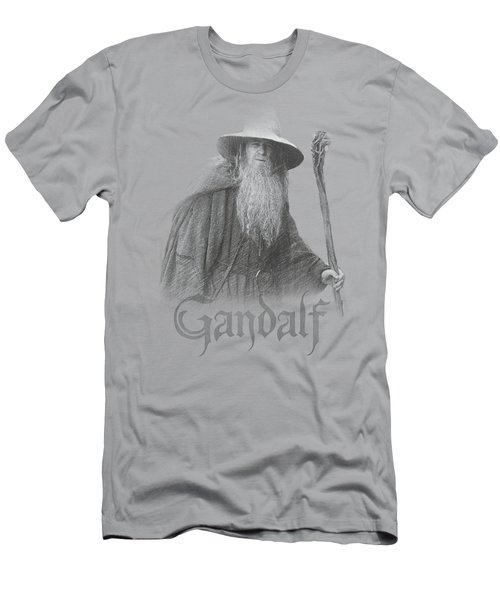 Lor - Gandalf The Grey Men's T-Shirt (Athletic Fit)