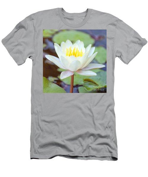 Lotus Flower 02 Men's T-Shirt (Slim Fit) by Antony McAulay