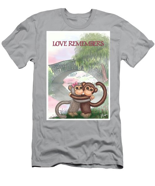 Love Remembers Men's T-Shirt (Slim Fit) by Jerry Ruffin