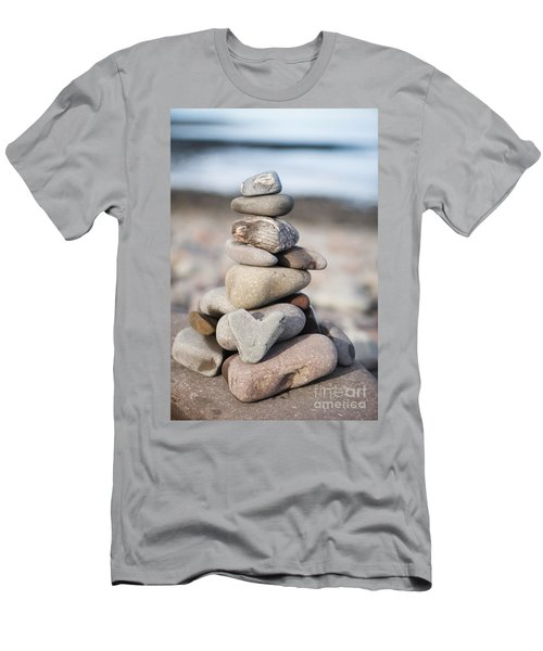 Love Stack Men's T-Shirt (Athletic Fit)