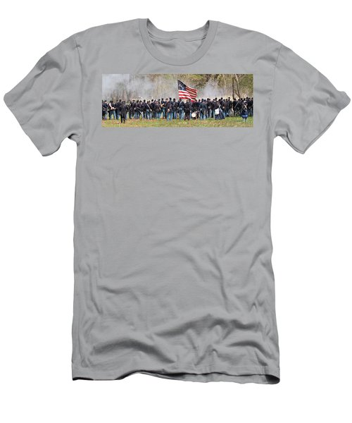 Lovely Flag Men's T-Shirt (Athletic Fit)