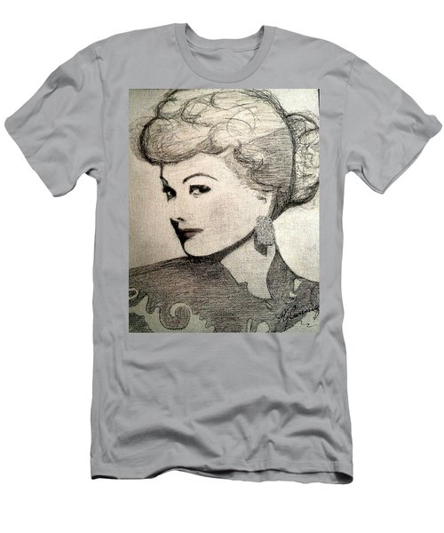 Lucille Ball Men's T-Shirt (Athletic Fit)