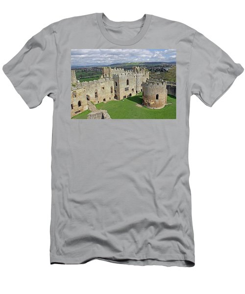 Ludlow Castle Chapel And Great Hall Men's T-Shirt (Athletic Fit)