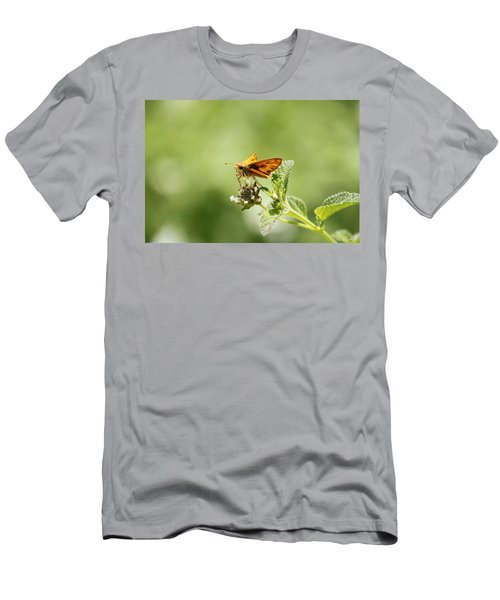 Men's T-Shirt (Slim Fit) featuring the photograph Lunch Time by Amy Gallagher