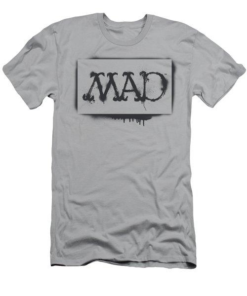 Mad - Stencil Men's T-Shirt (Athletic Fit)